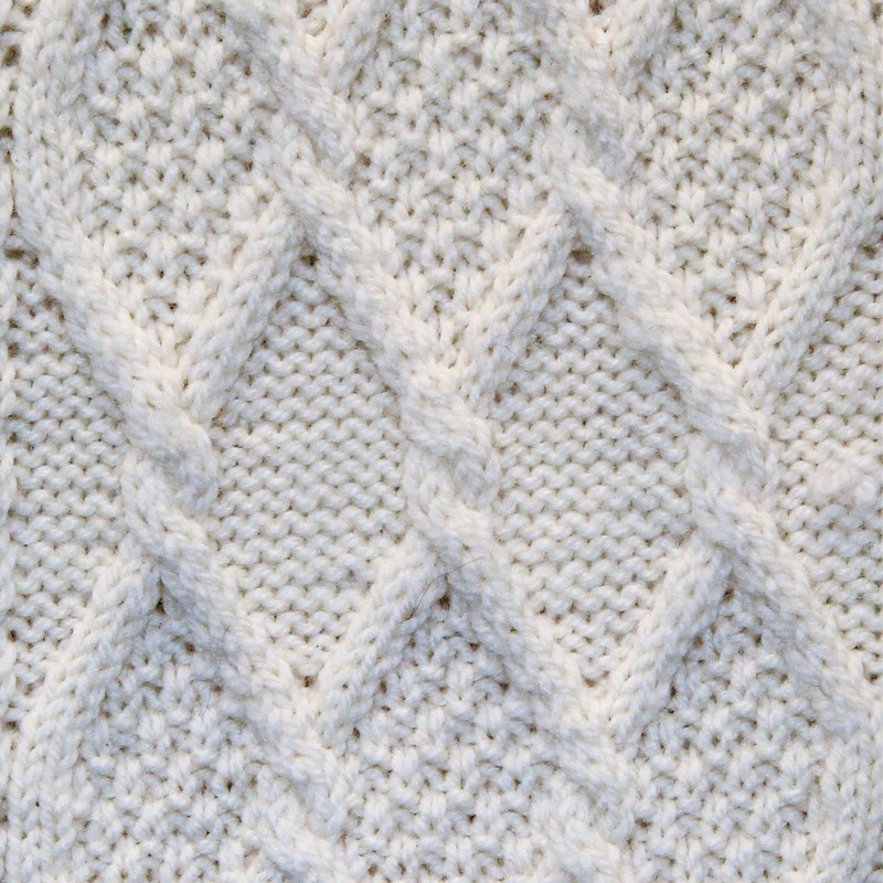 Diamond Stitch square