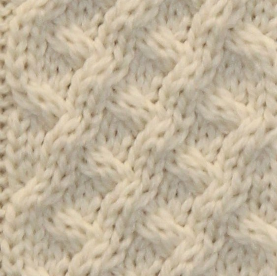 Trellis Stitch (2) square