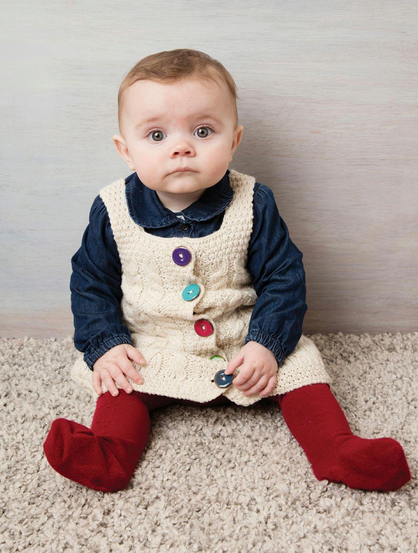 c751b3d94b88 Children s Knitted Dress - Aran Islands Knitwear